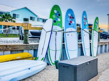 paddle board and kayak rentals