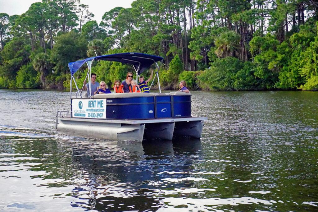 Cape crossing pontoon boat rentals